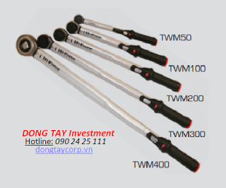MANUAL TORQUE WRENCHES - CLICK TYPE Hi-Force TWM