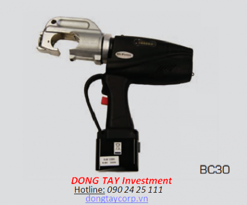 BATTERY OPERATED CABLE CRIMPING TOOLS Hi-Force BC