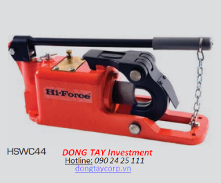 SELF-CONTAINED HYDRAULIC WIRE ROPE CUTTERS  Hi-Force HSWC