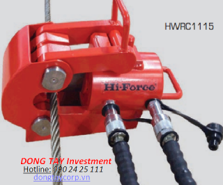 DOUBLE ACTING WIRE ROPE CUTTERS Hi-Force HWRC